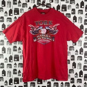 Harley Davidson York, Pennsylvania Graphic T-shirt